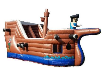 Hüpfburg mieten, Hüpfburg Piratenschiff