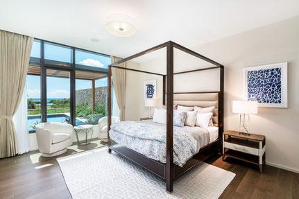 canopy bed, muro designs, interior design, interior coordinator, hawaii, california, modern interior, hawaiian interior,  ムロデザインズ、インテリアデザイン、インテリアコーディネーター、ハワイ、カリフォルニア、モダンインテリア、天蓋付ベッド