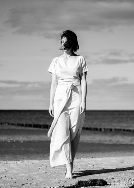 veganes und nachhaltiges Designer-Brautkleid