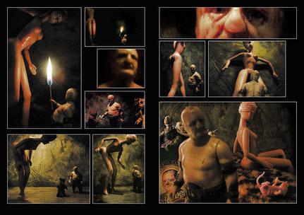 Géza Szöllősi, Affair, Barbie's affair with Rancor Keeper, 2003, digital photo