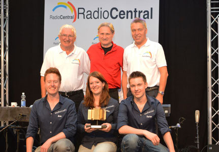 Gewinn Goldiges Örgeli 2013 von Radio Central