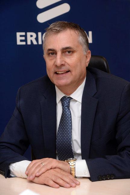 محمد درغام، رئيس شركة اريكسون في منطقة شمال الشرق الاوسط