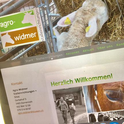 Druckatelier46 Mülchi - Linkfoto Agro-Widmer - Logo- und Webdesign