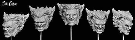 """1/6 12"""" Wolverine"""