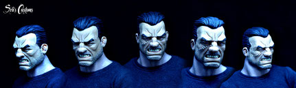"1/6 12"" Punisher War Zone"