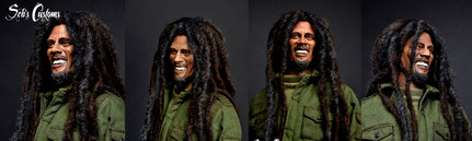 Bob Marley  1/6 headscupt