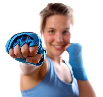 Kickboxen-Frauen Bad Reichenhall 1
