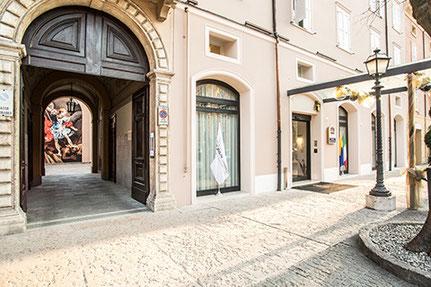Für Feinschmecker: Designhotel in der kulinarischen Hochburg Modena.