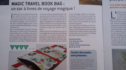 MAGIC TRAVEL BOOK BAG - REFLETS LA CHAUSSEE SAINT-VICTOR