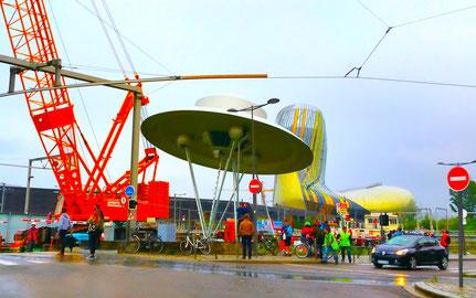 Spaceship / Le vaisseau spatial, Suzanne Treister, Bordeaux (un pour cent)