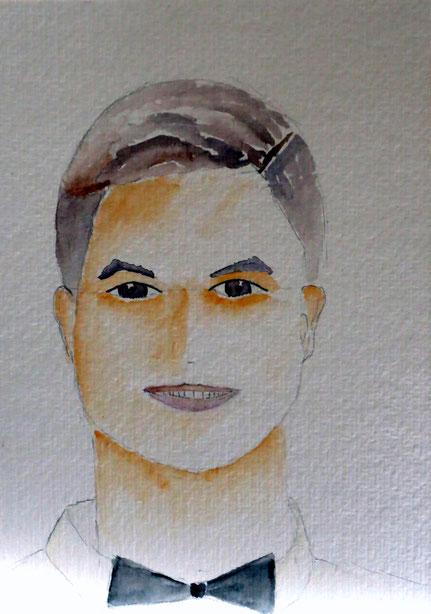Portrait Aquarell