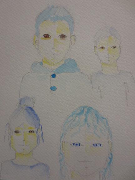 Kinder Portrait Malkurse