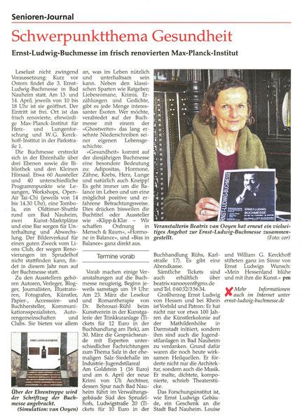 Seniorenjournal, Wetterauer Zeitung, Text: pm, Foto: Corinna Weigelt, 16.03.2019