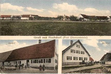 links: unterer Maushof  / rechts: Seilerhof Foto: Marie Eberhardt