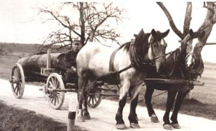 Die Landwirtschaft prägte früher wie auch heute den Weiler.