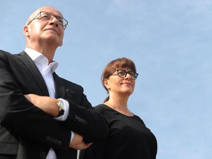 Uwe Klein und Helga Klein