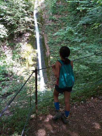 Wasserfall in der Koseka Schlucht