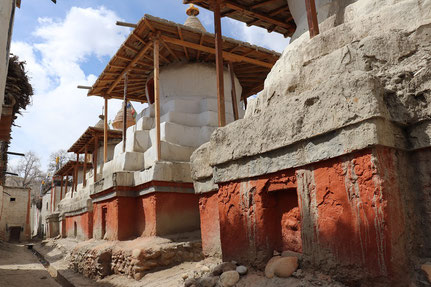 Chorten in Lo Manthang