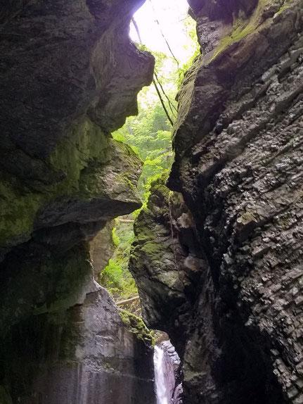Schlucht Kozjak Wasserfall