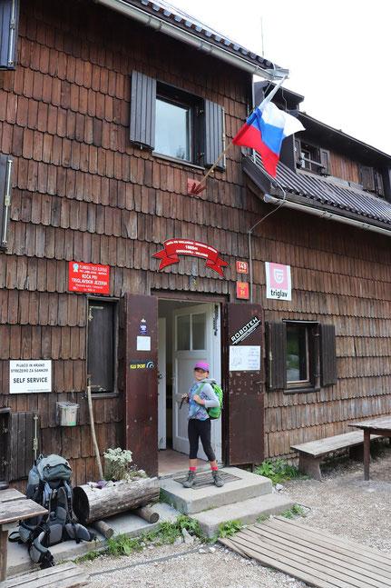 Triglav Seen Hütte Slowenien