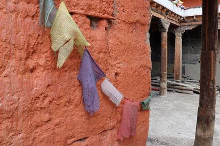 Gebetsflaggen Lo Manthang