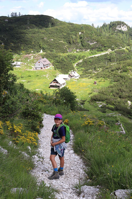 Hütte Bogatinom Triglav Nationalpark Slowenien