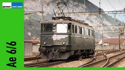 Foto-Datenbank Ae 6/6 SBB Gotthardlokomotive