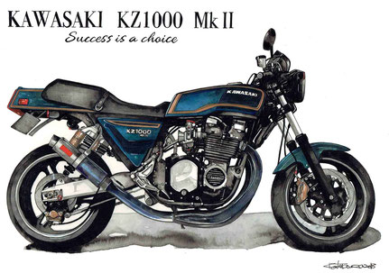 KAWASAKI KZ1000MkⅡ