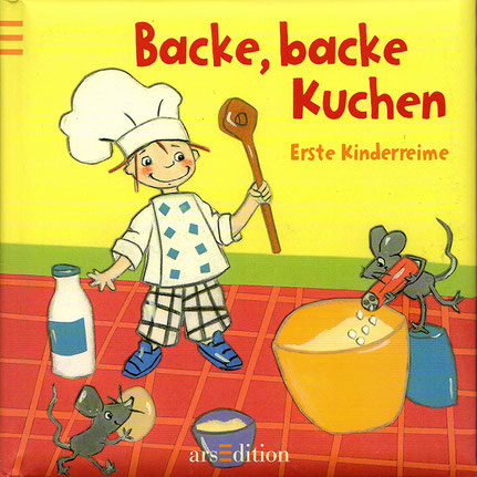 Backe, backe Kuchen - Kirsten Höcker Illustration