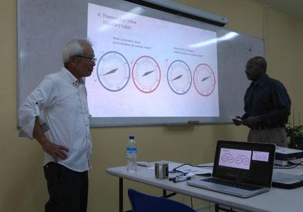 高圧圧力と定圧圧力の変化などに関する講義
