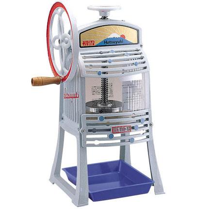 Machine kakigori manuelle