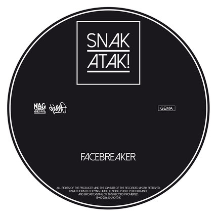 Snakatak Album Cover Facebreaker 2016
