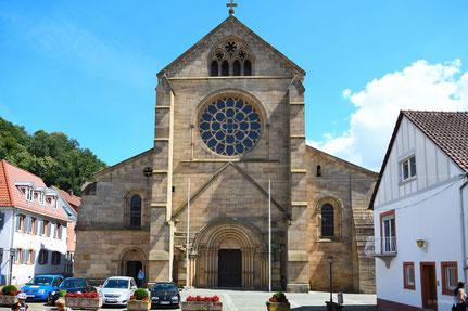Abteikirche Otterberg Westansicht, Bild: T. Lierke 2018