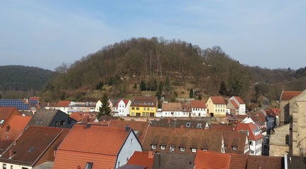 Die Otterburg stand auf dem Schlossberg
