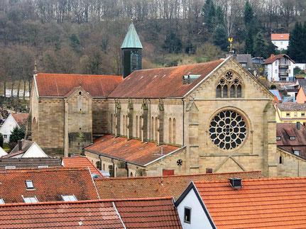Abteikirche Otterberg  Bild: Frau Carra