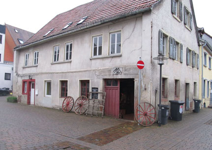 Die Alte Schmiede Theis in der Kirchstrasse