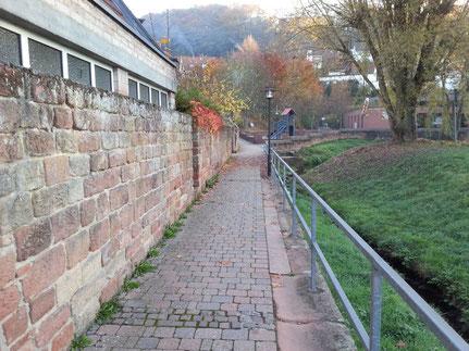 Altstadtrundgang Otterberg, Alte Stadtmauer