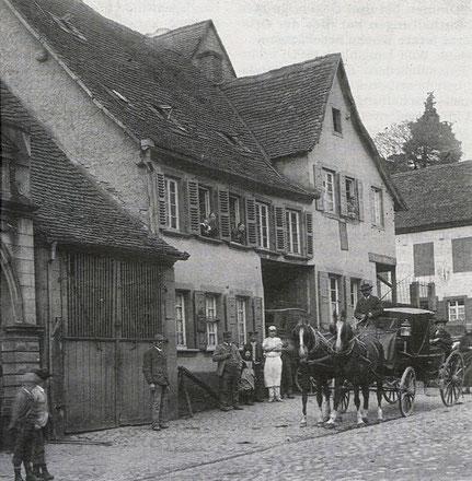 Haus Rettig und ehemalige Poststation