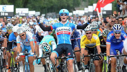 Raymond wint een etappe in de Tour de L'Ain