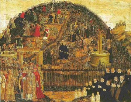 Lucas Cranach d. J.: Der Weinberg des Herrn (Photo: Christian Meyer)