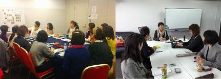 写真は、東京、広島でのルノルマンスクール講習会の様子です。