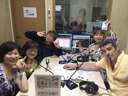 ラジオ生放送でルノルマンリーディングを展開!