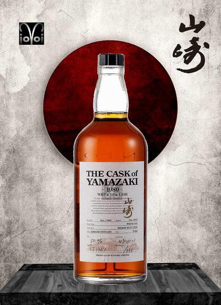 Yamazaki Single Malt Cask #SJ1367