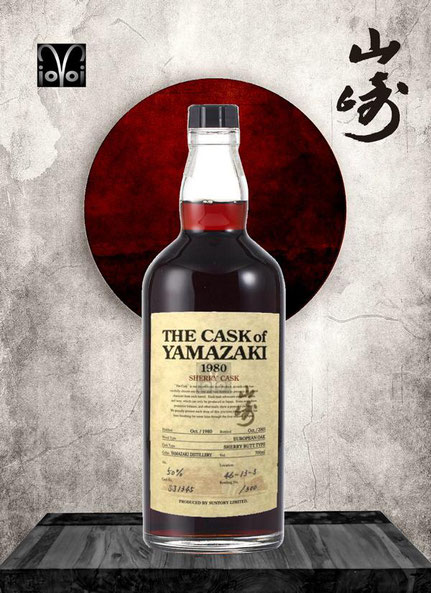 Yamazaki Single Malt Cask #SJ1345