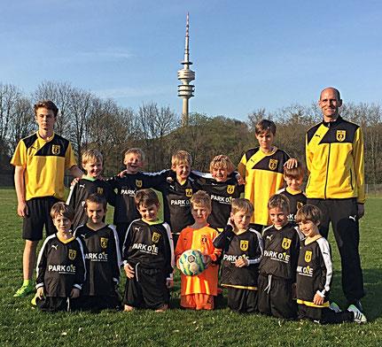 Fußballmanschaft G-Jugend FC Teutonia