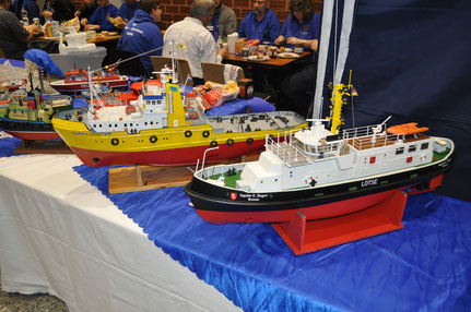 Mir persönlich gefiel das Lotsenboot  Kapitän K. Siegert so gut, dass ich sie am liebsten mitgenommen hätte.