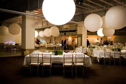 globos gigantes salón