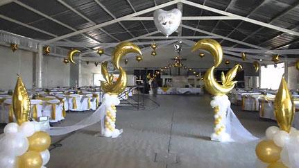 globos metálicos bodas