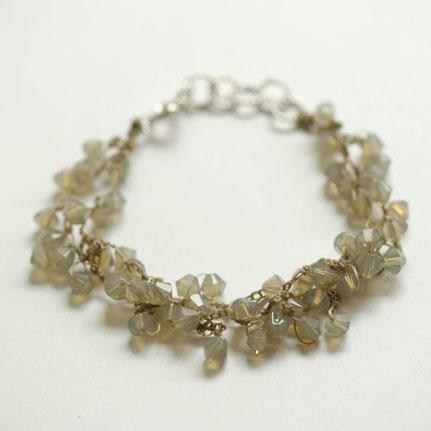 swarovski sieraden, gehaakte sieraden, handgemaakte sieraden