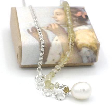 hartjes en duifjes sieraden, handgemaakte sieraden, zilveren sieraden